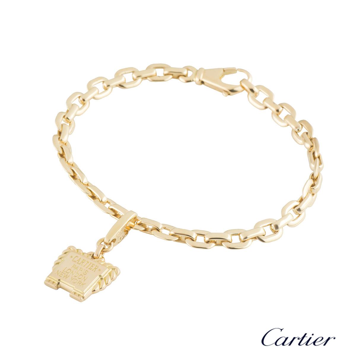 Cartier Charm Bracelet